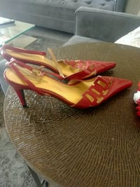 RED SANDALS BRAND NEW SIZE 39 Mississauga, L5L 4M6