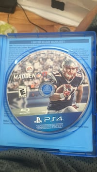 PS4 Madden NFL 17 disc Washington, 20009