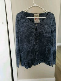 gray button-up cardigan Edmonton, T5K 1T9