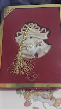 Lenox First Christmas Together 2001 Ornament High Point, 27262