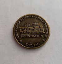 United States Marine Corps Toys for Tots Coin