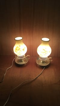 two yellow table lamps Camino, 95709