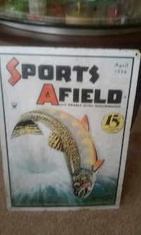 Sports Afield pub signage