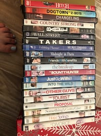 20 DVD's for $10 (various titles) Leesburg, 20166