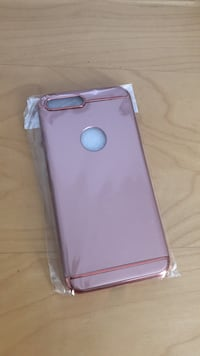 pink iPhone rear case