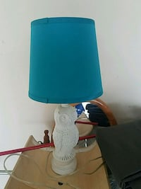 white and blue table lamp Rogersville, 65742