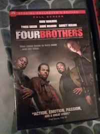 Four Brothers full screen DVD case Victoria, 77901