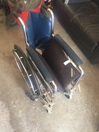 Wheelchair with therapeutic seat cushion Edmonton, T6X