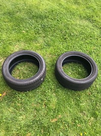 Two Continental Tires Set