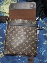 black and brown Louis Vuitton leather  Toronto, M2R 1Z5