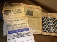 Old newspapers Glen Mills