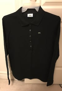 New! Lacoste black long sleeve polo shirt - size 50 Vaughan, L4J 8N8