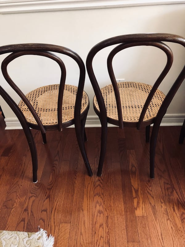 Bentwood chairs - two da5e27c4-17c3-4558-bbbe-73370f93549c