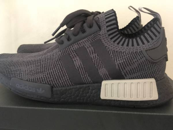 1509532c184a Used Adidas NMD R1 Primeknit Runner Boost Blk Olive AQ1248 sz 9.5 for sale  in Torrance - letgo