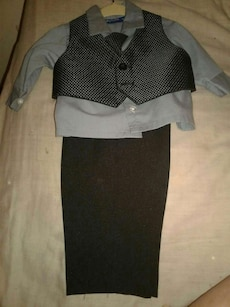 Baby boys dress outfit