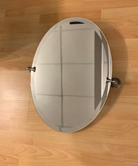 Oval Mirror with brackets - open to offers Calgary, T2Y 4B1