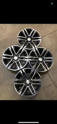 "4 ""Brand Spanking New"" 18"" 2019 Chevy Colorado Original Rims"