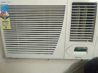 white window-type air conditioner null