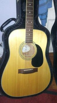 Mitchell vintage acoustic guitar