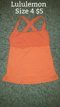 Lululemon Size 4 Tank Minneapolis, 55428