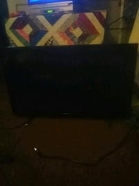 black flat screen TV with remote Enfield, 06082