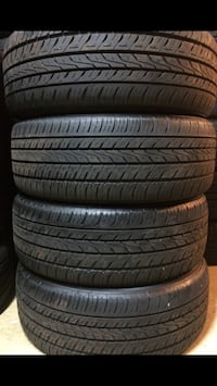 four black rubber car tires Woodbridge, 22193