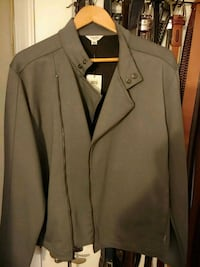 gray notch lapel suit jacket Laurel, 20723