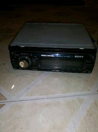 black Pioneer 1-din car stereo Oxnard