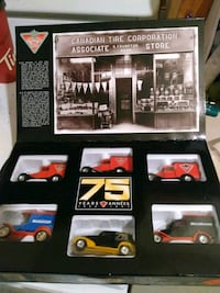 six Canadian Tire Corporation scale model collection