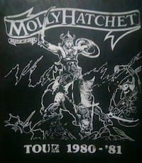 Price Drop. Molly Hatchet Band Intinerary Book