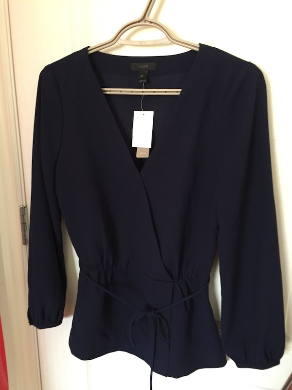 Jcrew blouse brand new with tags Size 2T