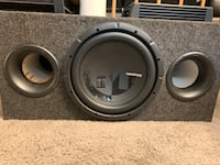 Amp and subwoofer  District Heights, 20747