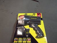 Stanley Li ion rechargeable Spotlight with USB  Golden