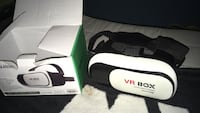 Vr headset with box