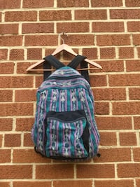 Cloth patterned backpack Silver Spring, 20910