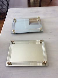 two rectangular mirror trays 15 for the 2 Mobile, 36604