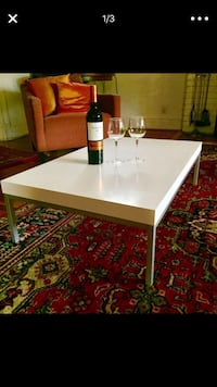 White coffee table Alexandria, 22312