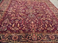 brown and red floral area rug Burlington, L7N 2S2