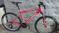 red and black hardtail mountain bike Kirkland, 98033