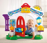 Fisher Price Learning Home  Brick, 08724
