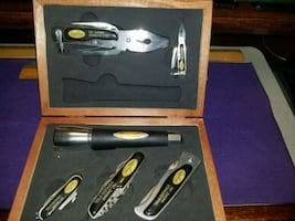 Sheffield 6pc , Multi-Purpose pocket tools and kni