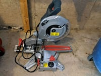 gray and red miter saw Niagara-on-the-Lake, L0S 1J0