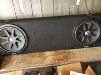 black and gray Kicker subwoofer Eastanollee, 30538