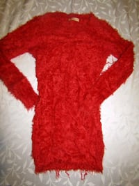 WOMENS SIZE XL red jumper