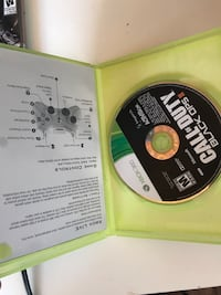 Call of Duty Black Ops 2 Xbox 360 game case Gatineau, J8Y 2L1