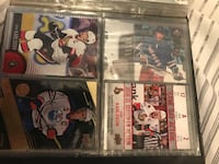 four Ice hockey player trading cards Gatineau, J8P 0B2