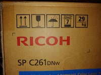 Band New Ricoh SP C261DNW Color Laser Printer - needs toner cartridges