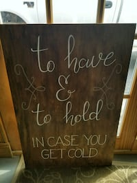 Wedding sign. Price reduced to $10! Alexandria, 22309
