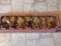 Vintage Disney seven dwarfs in original box  Laurel, 20723