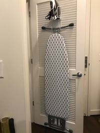 Ironing Board with Door Holder Silver Spring, 20910
